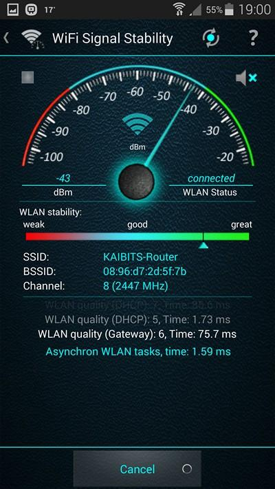 WiFi Overview 360 - screenshot
