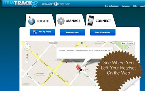 Headset TrackR - Locate & Find - screenshot thumbnail