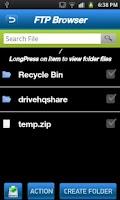 Screenshot of ZealFTP