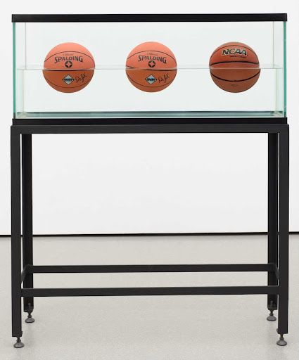 Three Ball 50/50 Tank (Two Dr. J. Silver Series, One Wilson Supershot)