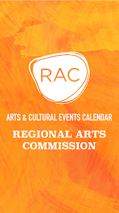 RAC Arts & Events Calendar screenshot