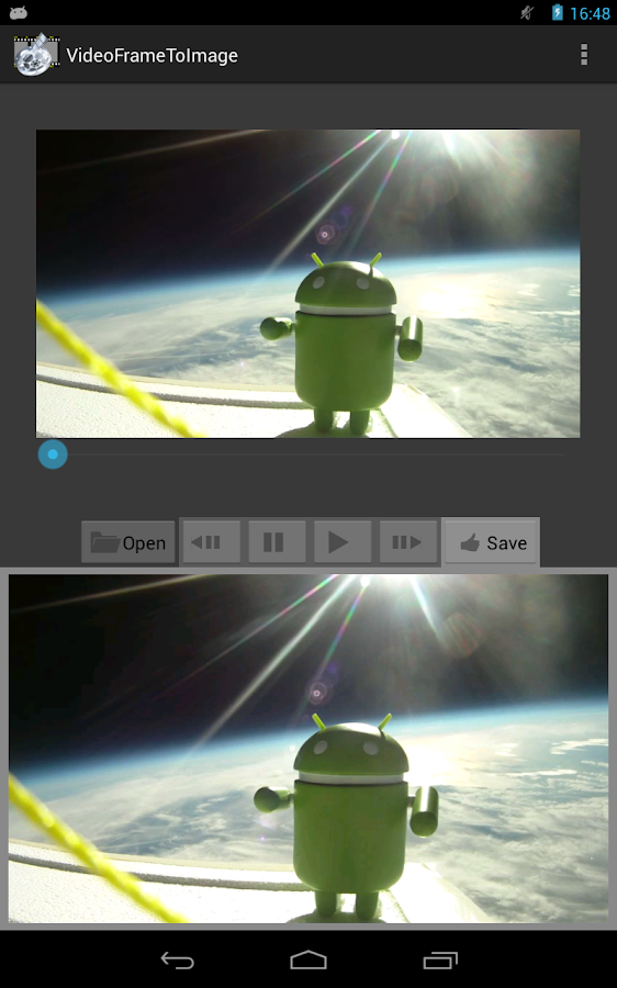 Video Frame To Image - screenshot