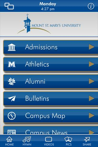 Mount St. Mary's University - screenshot