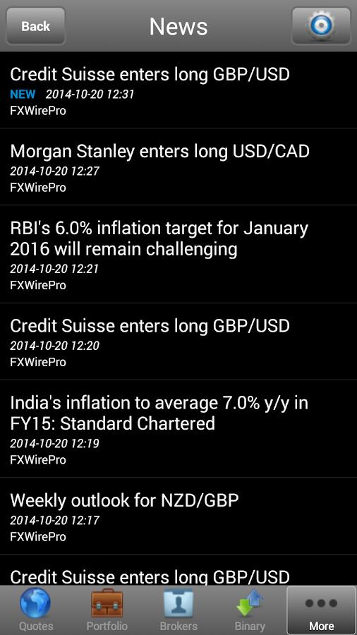 TradeInterceptor Forex Trading - screenshot