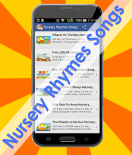 Nursery Rhymes Songs Screenshot Thumbnail