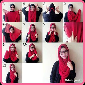 Hijab Photo Tutorial 生活 App LOGO-APP試玩