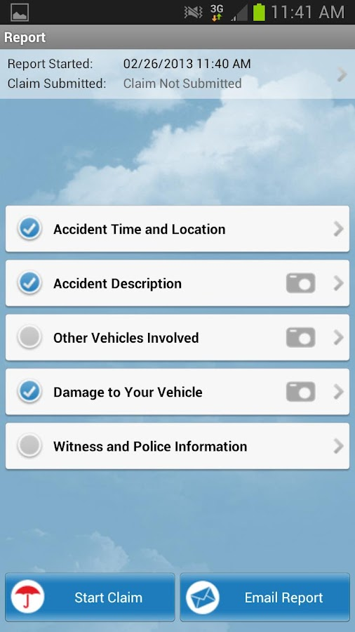 Travelers Auto Accident Help - screenshot