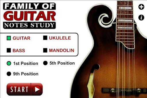 Guitar Family Note Study
