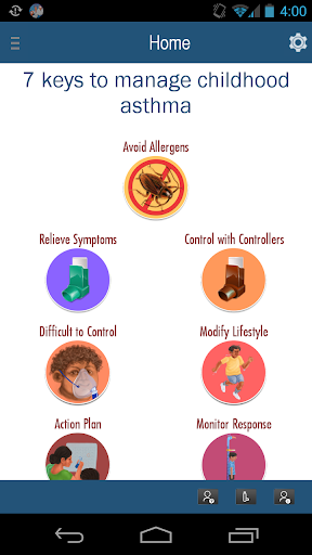 7 keys to manage Child Asthma