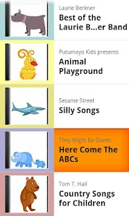 Kids' Music Player- screenshot thumbnail