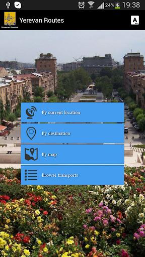 Yerevan routes երթուղիներ