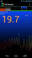 Screenshot of Home Climate Control Remote