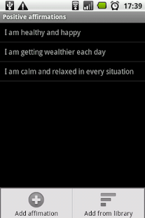 Positive affirmations- screenshot thumbnail