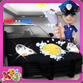 Download Police Car Wash Salon Cleanup APK