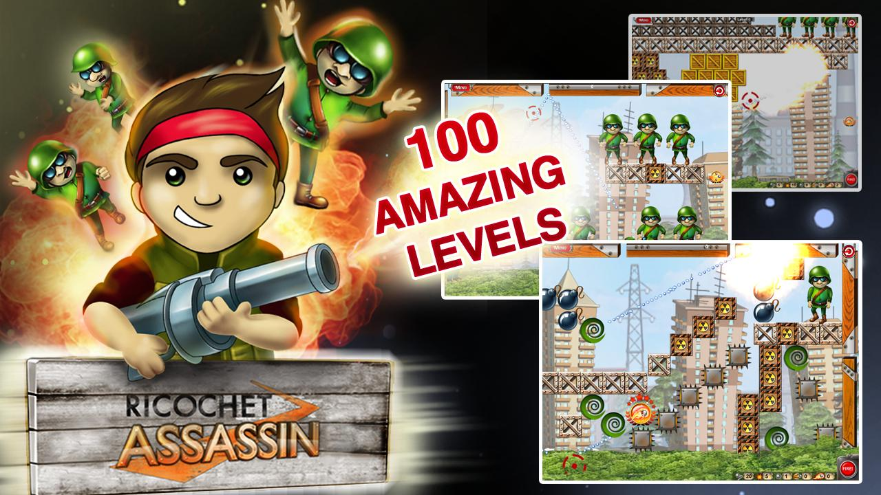 Ricochet Assassin Free- screenshot