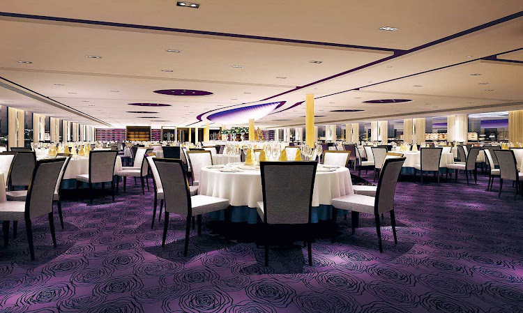 You'll enjoy both Western and authentic Chinese cuisine in the main restaurant during your cruise through China.