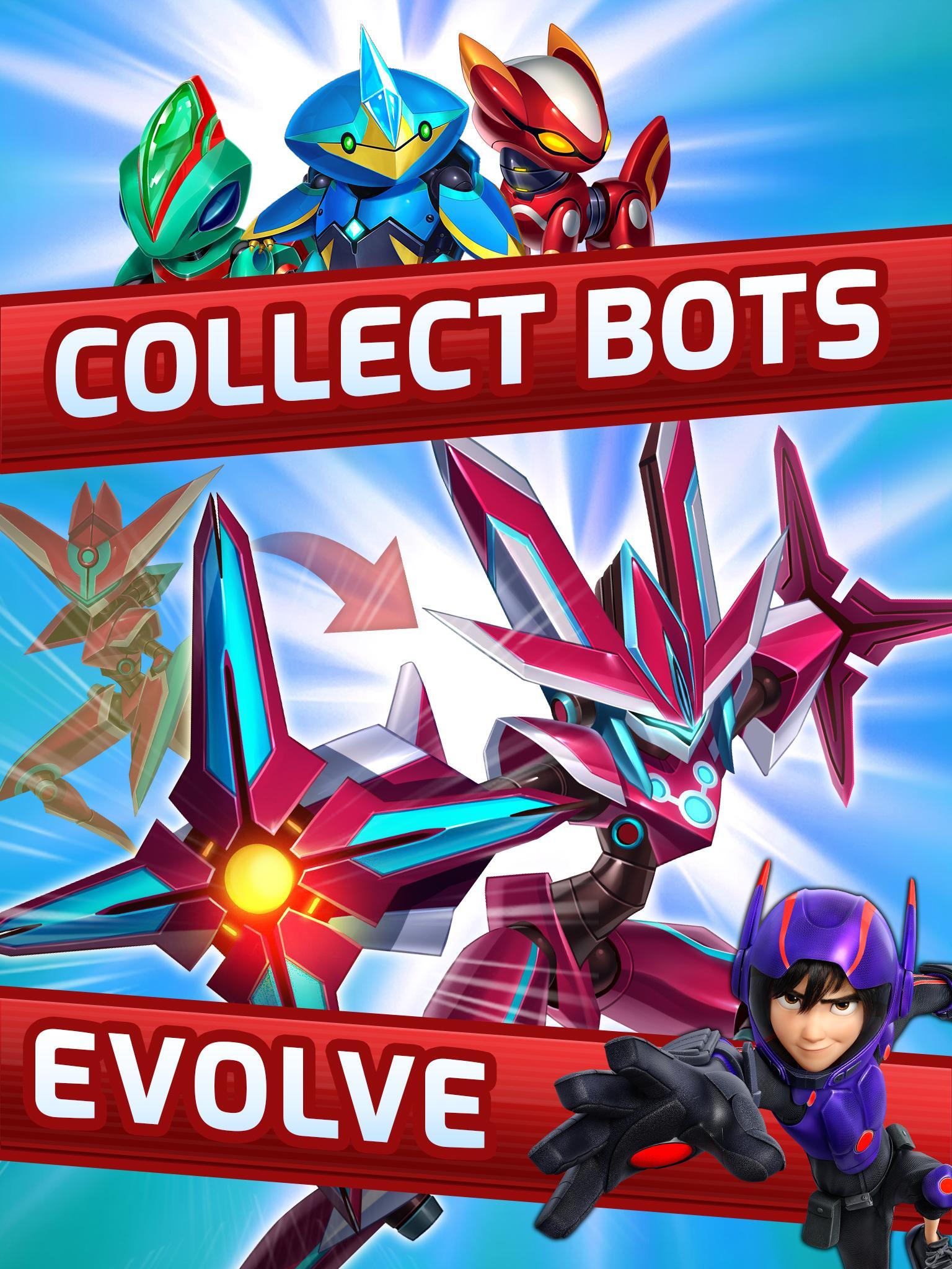 Big Hero 6 Bot Fight screenshot #2