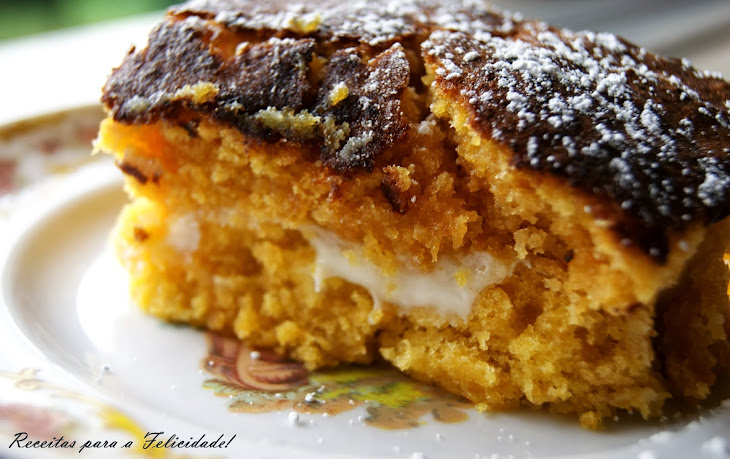 Pumpkin and Gila Squares with Cream Cheese Filling Recipe