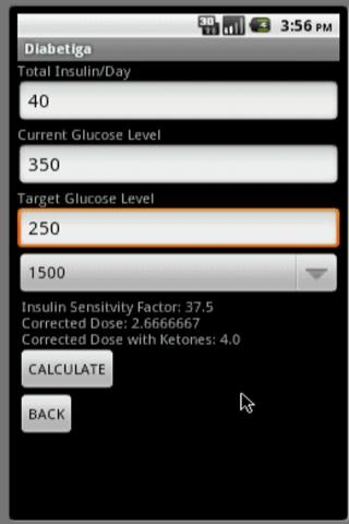Diabetiga Trial - screenshot