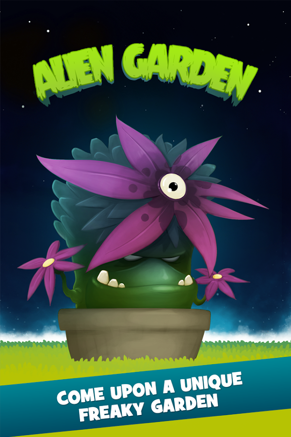 Alien Garden- screenshot