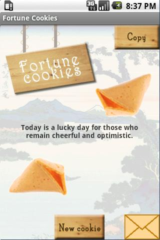 Fortune Cookies - screenshot
