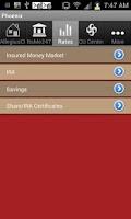 Screenshot of Allegius Credit Union