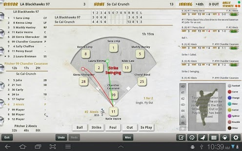 iScore Baseball/Softball- screenshot thumbnail