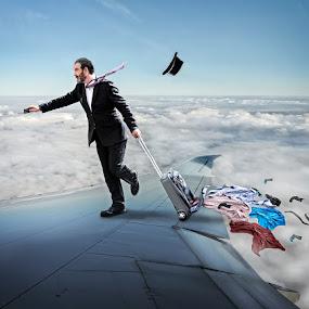 by Joan Blease - Digital Art People ( transport, air )