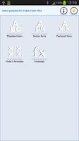 Screenshot of NaN Quadratic Function Pro