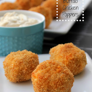 Buffalo Chicken Poppers