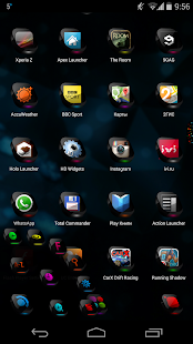Next Launcher Theme CosMix 3D - screenshot thumbnail