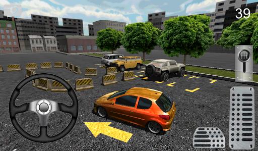 3D城市停車場