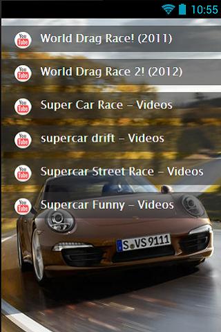 Fast Supercar Racing