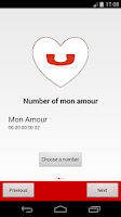 Screenshot of Call My Love in just 1 click