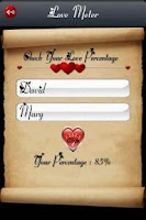 Screenshot of Love Tips and Calculator