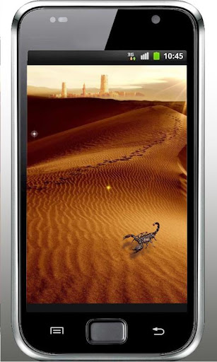 Desert Sand live wallpaper