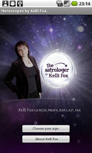 Astro Horoscope, by Kelli Fox- screenshot thumbnail