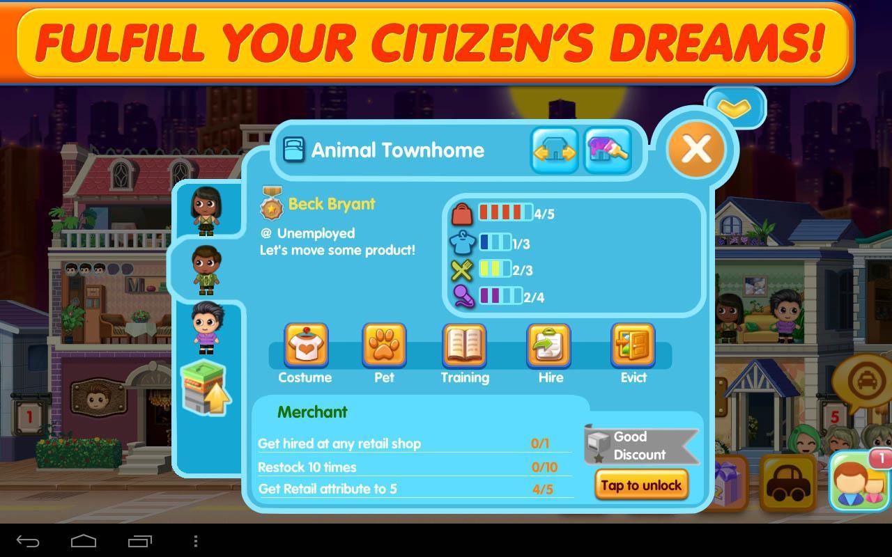 SMALL CITY screenshot #4