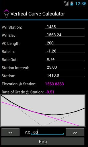 Vertical Curve Calculator