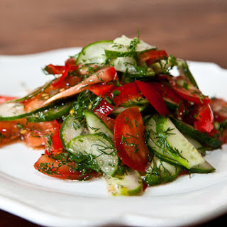 Summer Vegetable Salad.