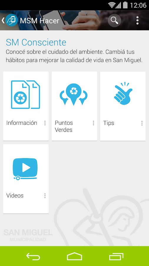 San Miguel Interactiva- screenshot