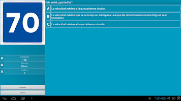 Screenshot of Autoescuela : Coche Lite