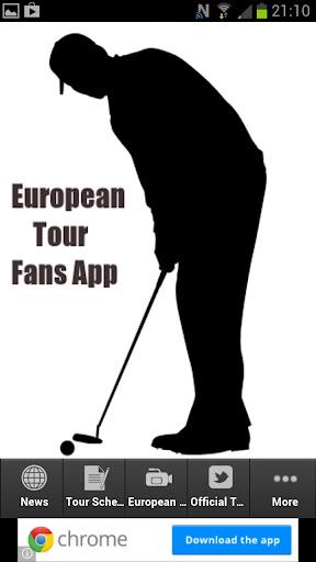 European Tour Fans App