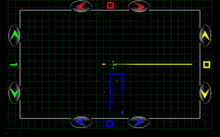 Screenshot of R-Liner (tron game)