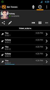 Zello PTT Walkie-Talkie - screenshot thumbnail