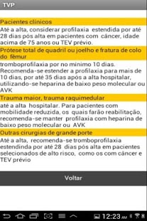 Profilaxia de trombose venosa- screenshot thumbnail