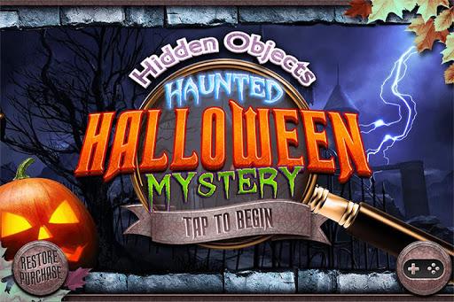 Hidden Object Halloween Haunt