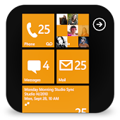 GO SMS Pro WP8 Orange theme