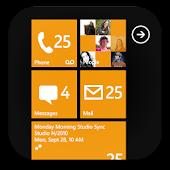 GO SMS Pro WP8 Orange theme