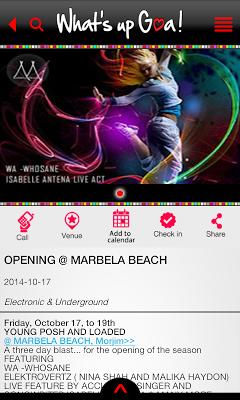 What's Up Goa! (WUG) - screenshot